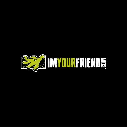 Design a logo for creative blog - imyourfriend.com