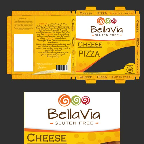 Bright, Beautiful, Bold! Help Design Pizza, Tortilla, Pasta Packages!