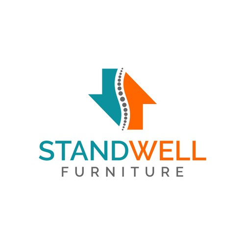Standwell Furniture logo design