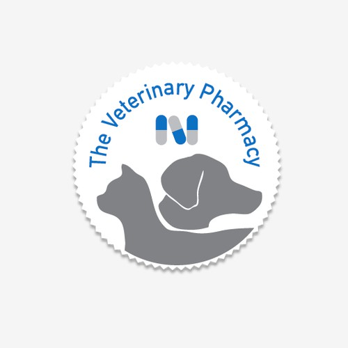 Design a logo for an animal pharmacy