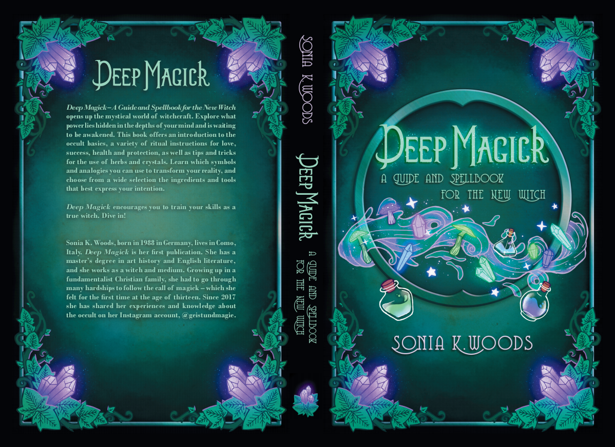 Deep Magic - Layout for English version (cover & interior)