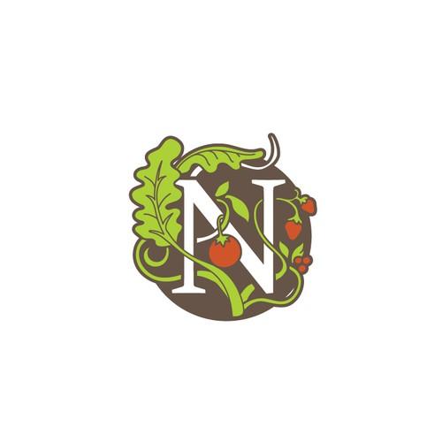 Art Nouveau Logo Style for Nouveau Raw