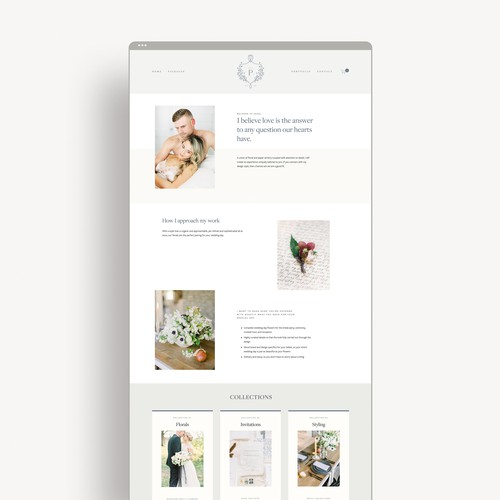 Pearl Brand/Website Design
