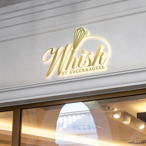 whisk logo design