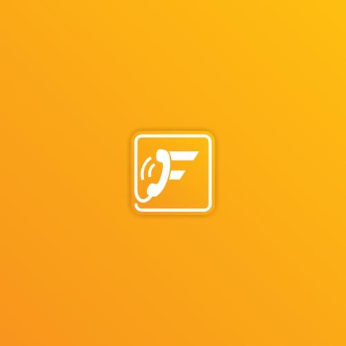 f phone logo