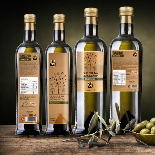 Design for olive oil