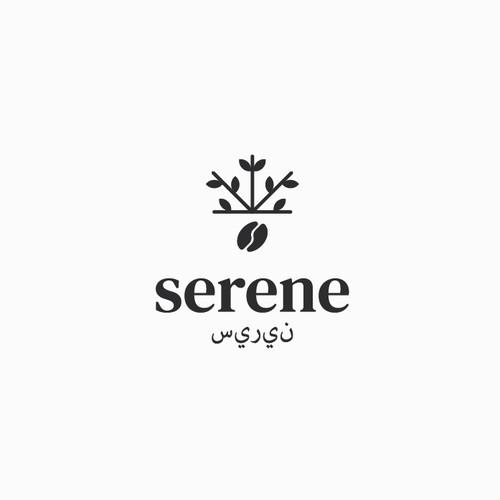 Concept logo for Serene