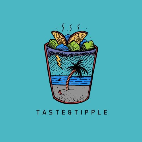 Logo for stylish new food blog