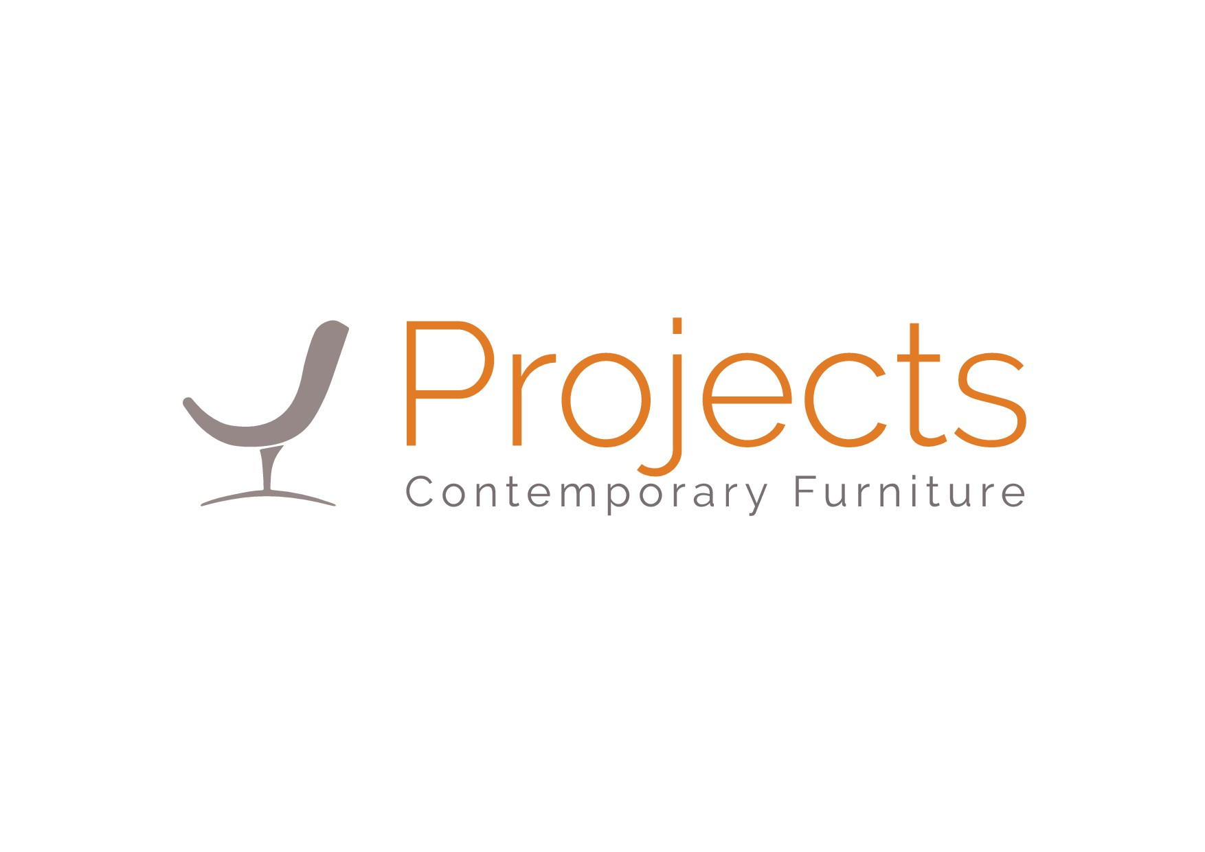 Need a *Modern* + *Sophisticated* logo for Projects Contemporary Furniture