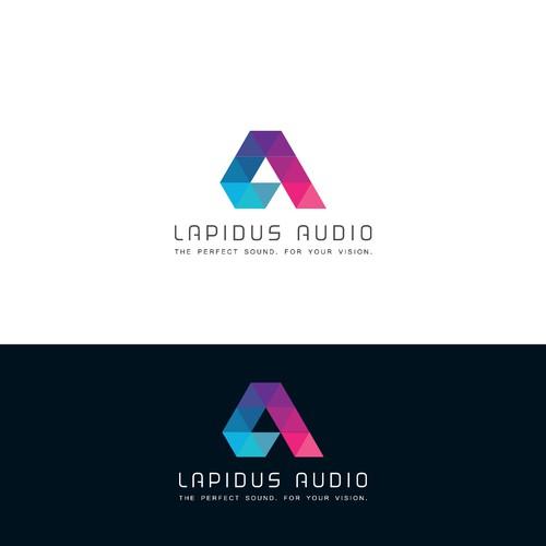 "Logo concept for ""Lapidus Audio"""