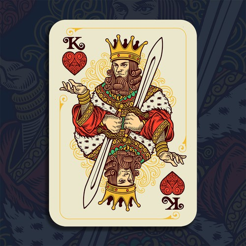 Vintage Playing Card Design
