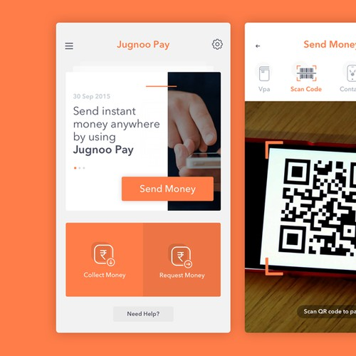 Jugnoo Pay App Concept