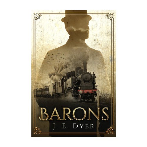 """Book cover for """"Barons"""""""