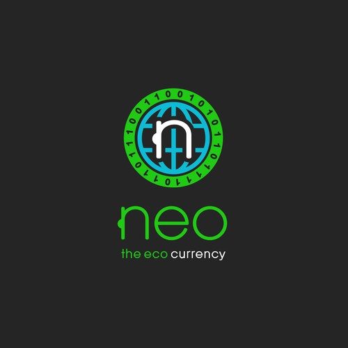 Logo for new cryptocurrency