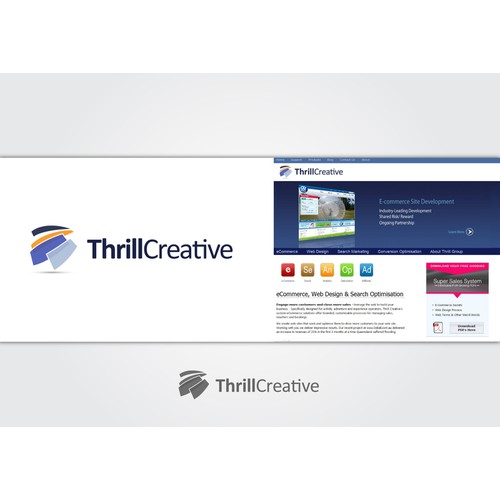 Create a Thrill - New Logo Design Wanted