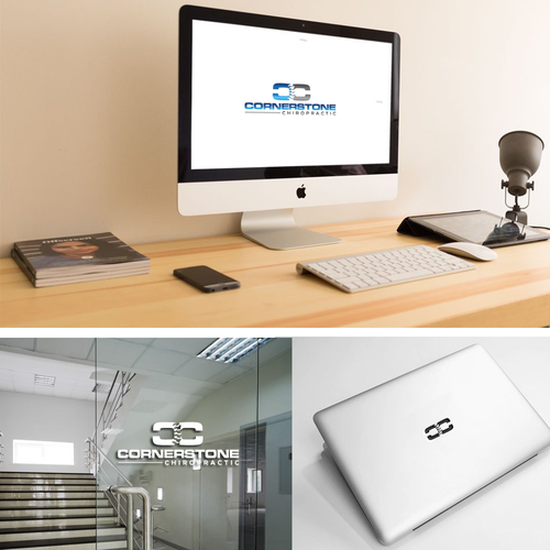 Bold logo for Chiroprctic Office