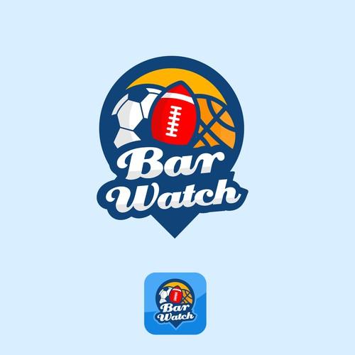 Fun Logo Design for Bar Watch