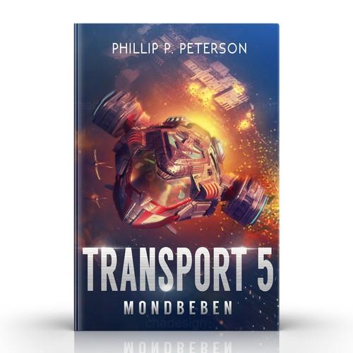 SCI-FI book cover 'TRANSPORT5'
