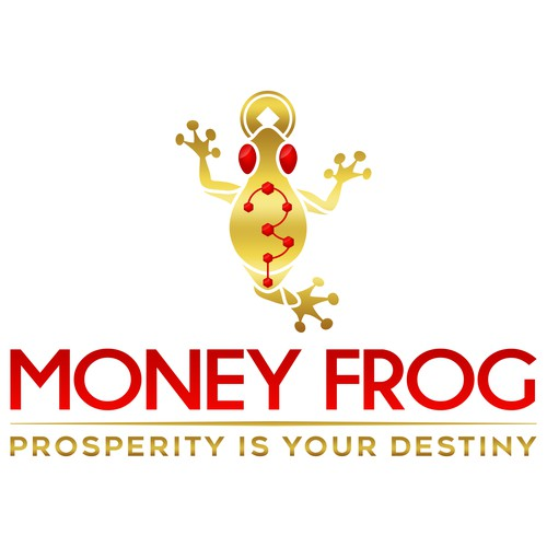 Classic, Ornate Logo For High-End Products - Money Frog!