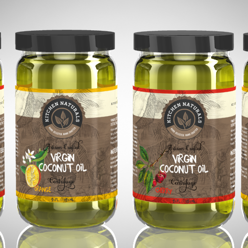 Help create a brand for Kitchen Naturals Virgin Coconut Oil