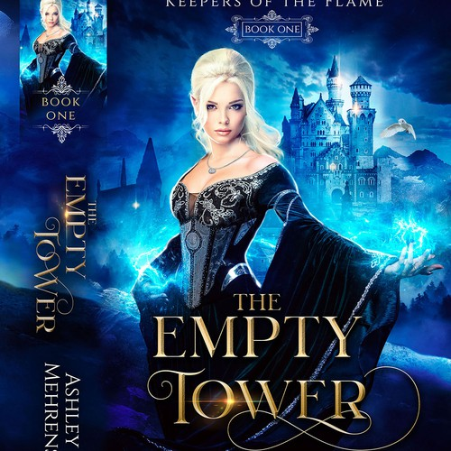 The Empty tower book cover design by jesh art studio