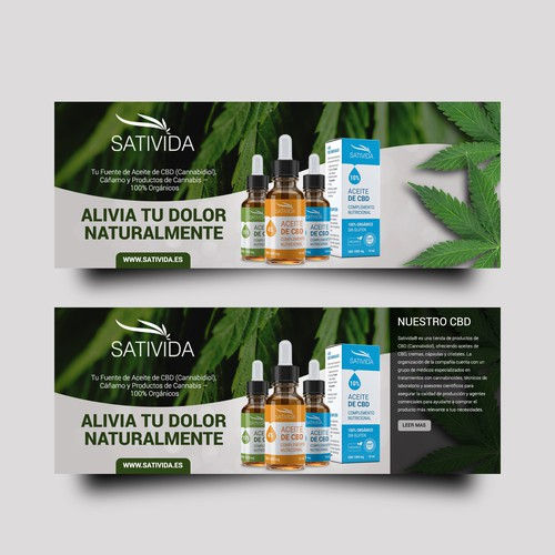 Banner Design for Sativida