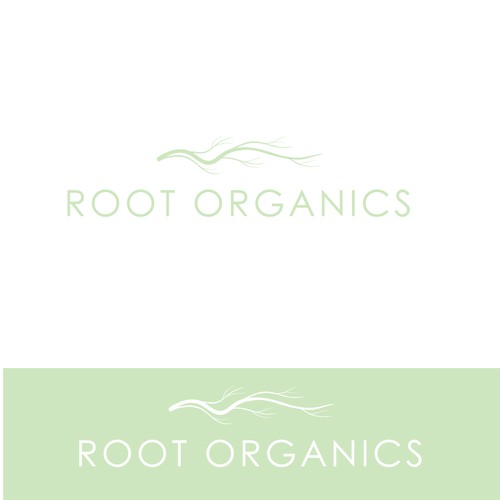 logo for organic beauty product line