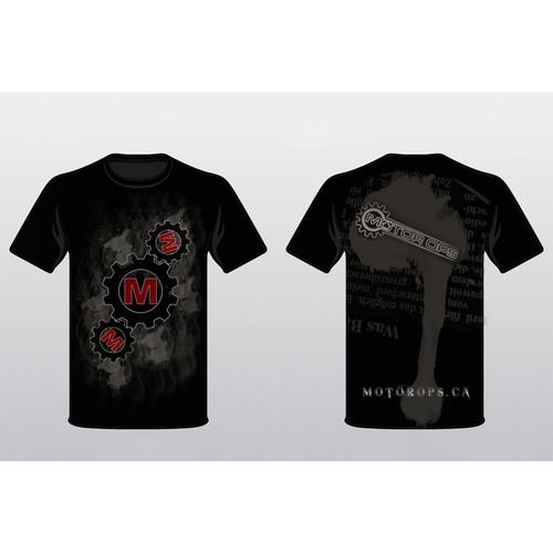 Motor Ops T-Shirt Design