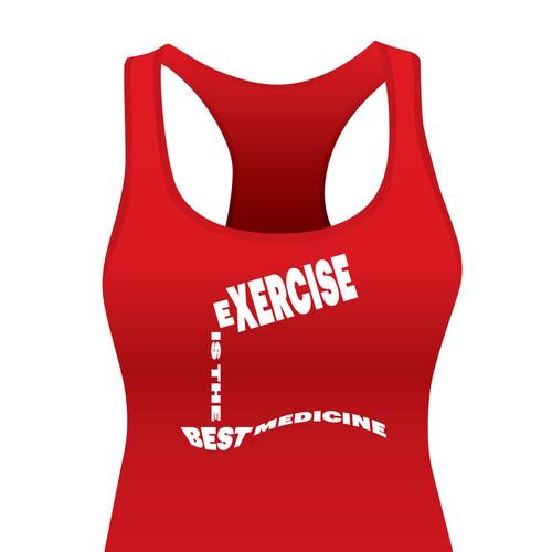 Fitness Shirt Design