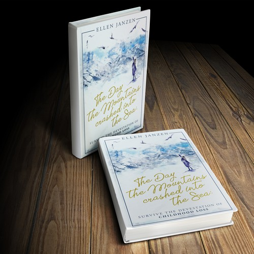 "Bookcover ""The Day the Mountains crashed into the Sea"""