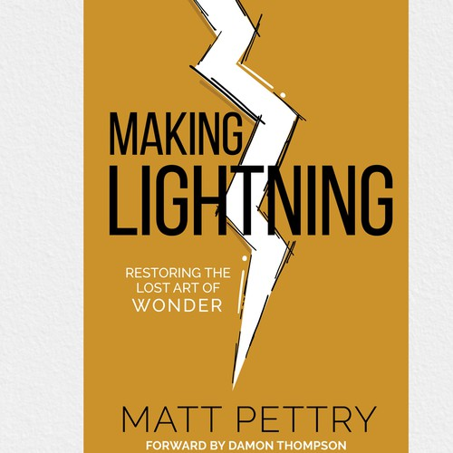 making lightning book cover