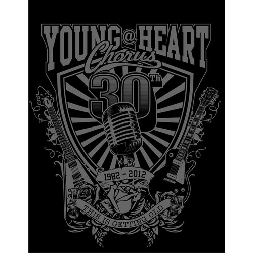 "Design Famous Singing Group ""Young@Heart"" 30th Anniv T-Shirt"