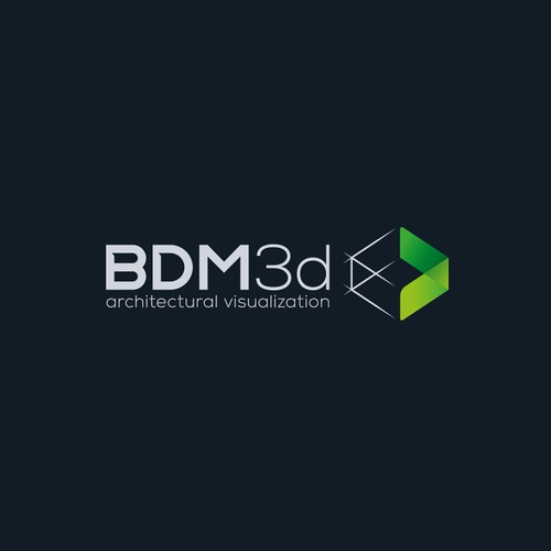 Logo for architectural 3D renderings studio