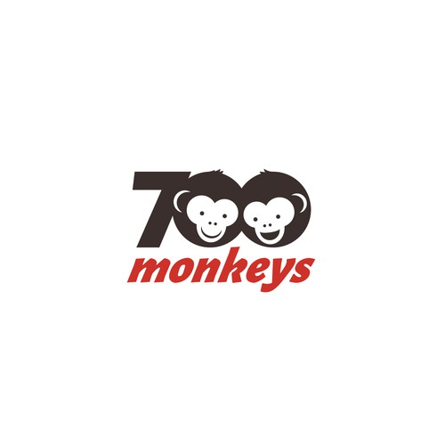 Logo for '700monkeys'