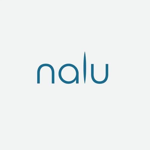 modern clean logo for NALU