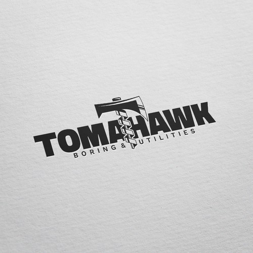 Bold Logo Winner for Tomahawk Boring & Utilities