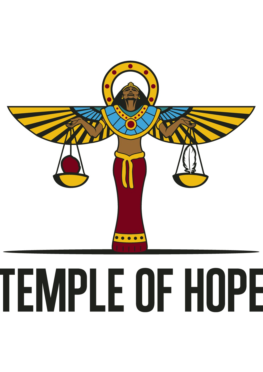 meaningful logo needed for temple