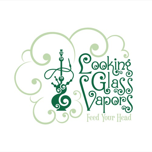 Looking Glass Vapors Logo