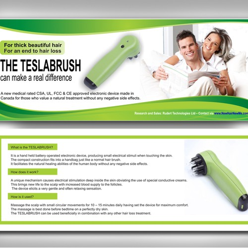 New postcard or flyer wanted for Rudert Technologies Ltd