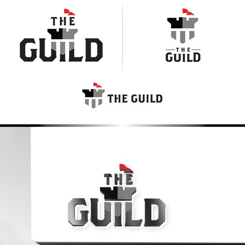 Bold logo of The Guild