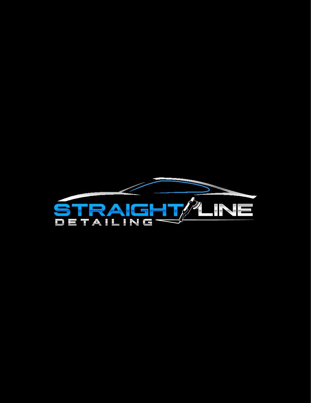 Straight Line Detailing needs a creative logo that pops!