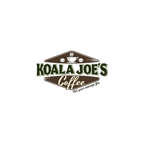 Create a winning Logo for the new national brand of Koala Joe's Coffee