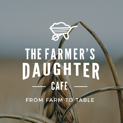 Logo Design for The Farmer's Daughter Cafe