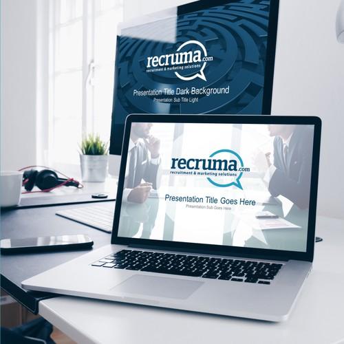 Visual, Sleek & Professional PowerPoint Template