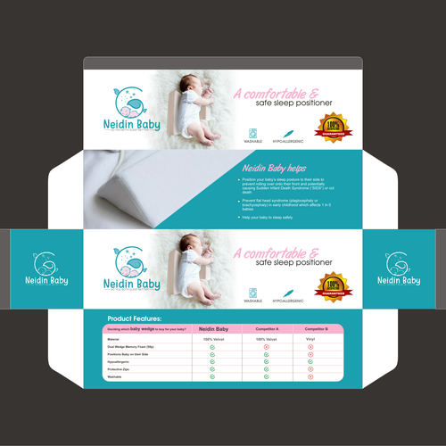 Neidin Baby Box Packaging