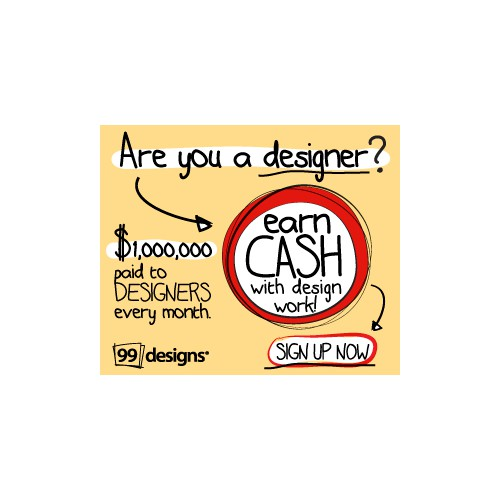 Banner ad design for 99designs