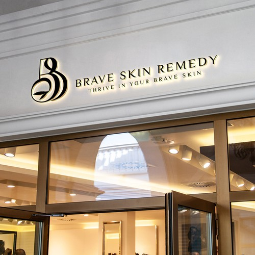 Sophisticated Logo Concept for Skin Care Spa
