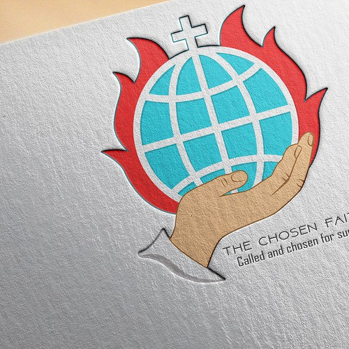 CREATIVE LOGO FOR GLOBAL CHRISTIAN RELIGIOUS MINISTRY