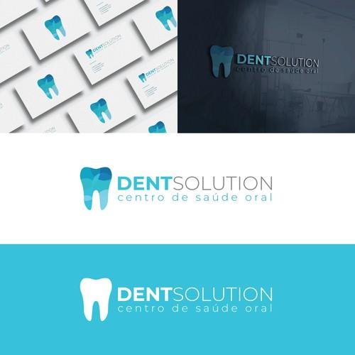 Minimal logo for a dental clinic