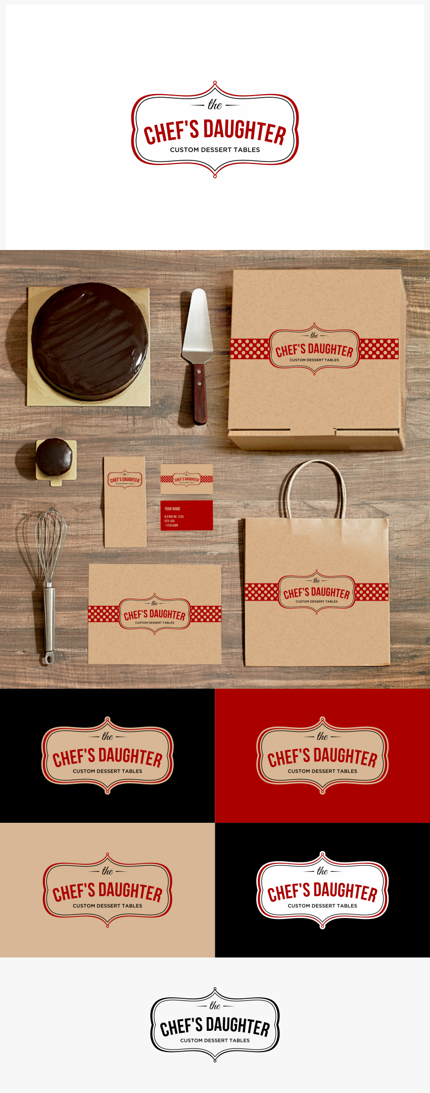 Blend culinary tradition and creative expression in a small business LOGO